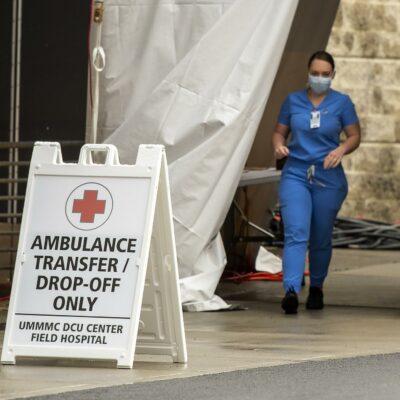 Sunshine_Sign_UMass_Memorial_DCU_field_hospital_triage